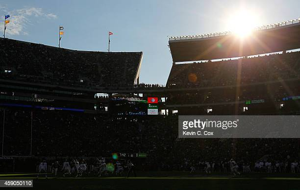 General view of Bryant-Denny Stadium during the game between the Alabama Crimson Tide and the Mississippi State Bulldogs on November 15, 2014 in...
