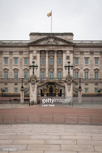 General view of Buckingham Palace on the day that Queen Elizabeth II is set to move to Windsor Palace in a bid to avoid the COVID-19 coronavirus...