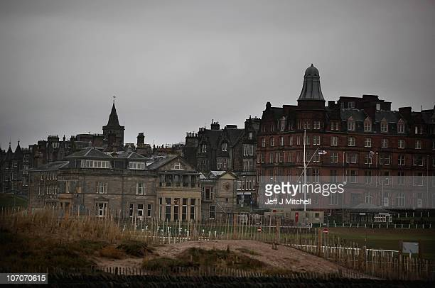 General view of buildings on November 22, 2010 in St Andrews, Scotland. The newly engaged Prince William and Kate Middleton studied at the University...