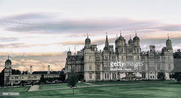A general view of Burghley House during The Land Rover Burghley Horse Trials 2016 on September 2 2015 in Stamford England