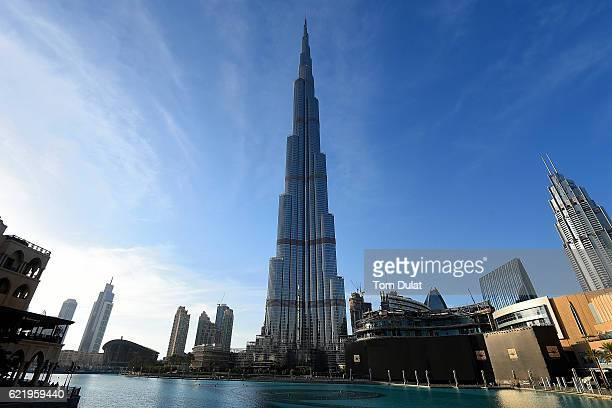 General view of Burj Khalifa on November 9, 2016 in Dubai, United Arab Emirates.