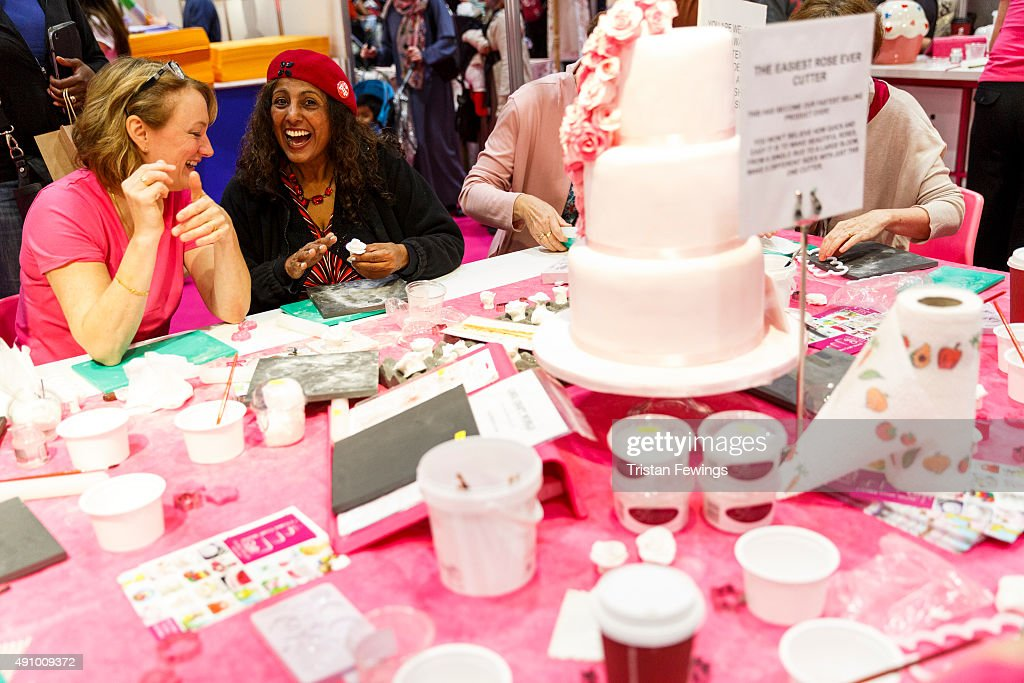 Excel cake decorating show