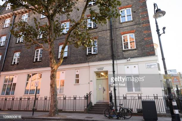 General view of Camden House bail and probation hostel on October 19, 2018 in London, England. Radical preacher Anjem Choudary has been moved to the...