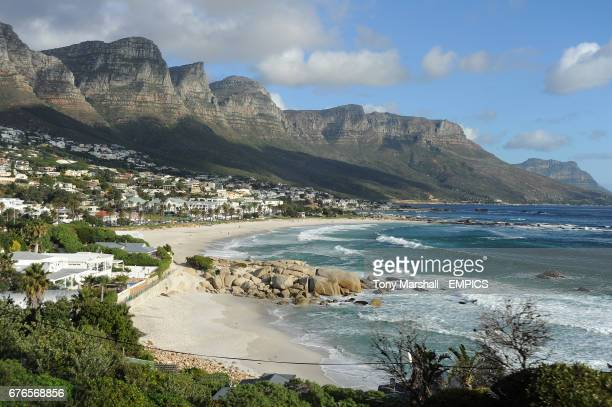 A general view of Camps Bay Cape Town