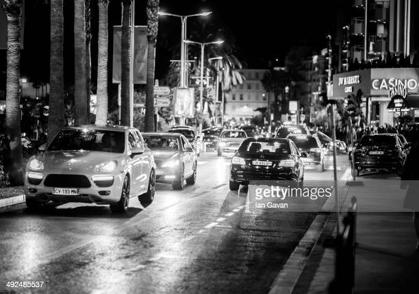 A general view of Cannes at night during the 67th Annual Cannes Film Festival on May 20 2014 in Cannes France