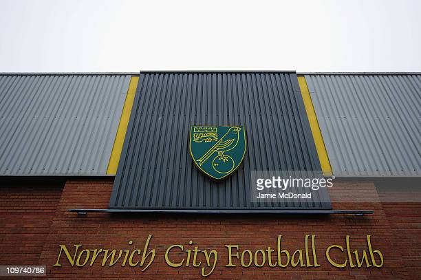 A general view of Carrow Road home of Norwich City Football Club on March 3nd 2011 in Norwich England