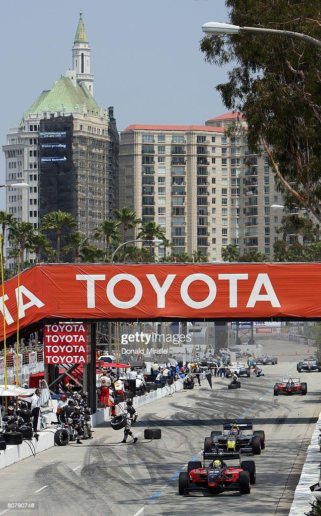 Toyota Grand Prix of Long Beach : News Photo