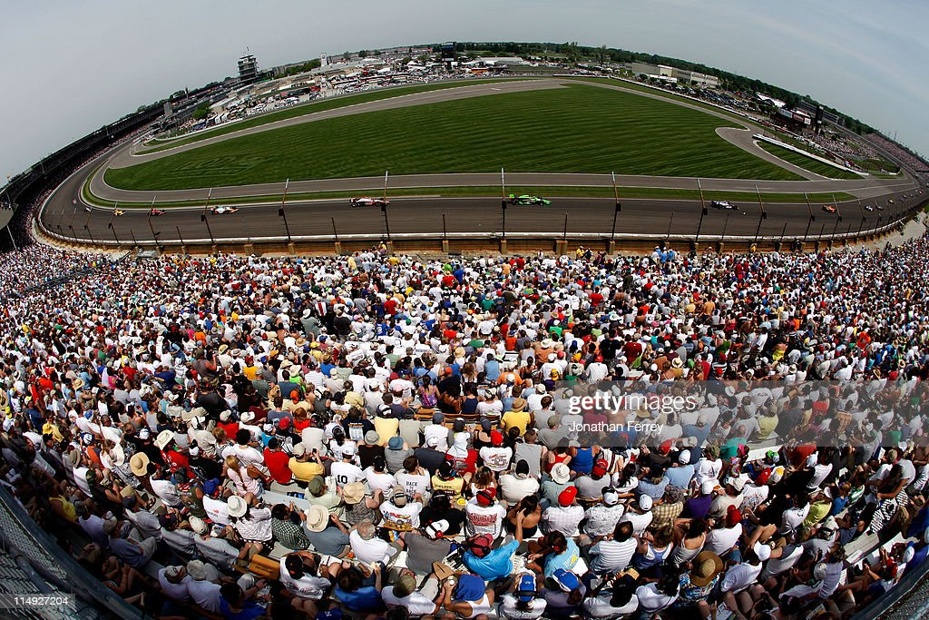 Indianapolis 500 Mile Race : News Photo