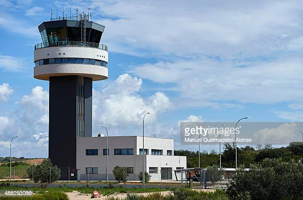 A general view of Castellon airport on September 15 2015 in Castellon de la Plana Spain Ryanair is the first airline to operate scheduled flights...