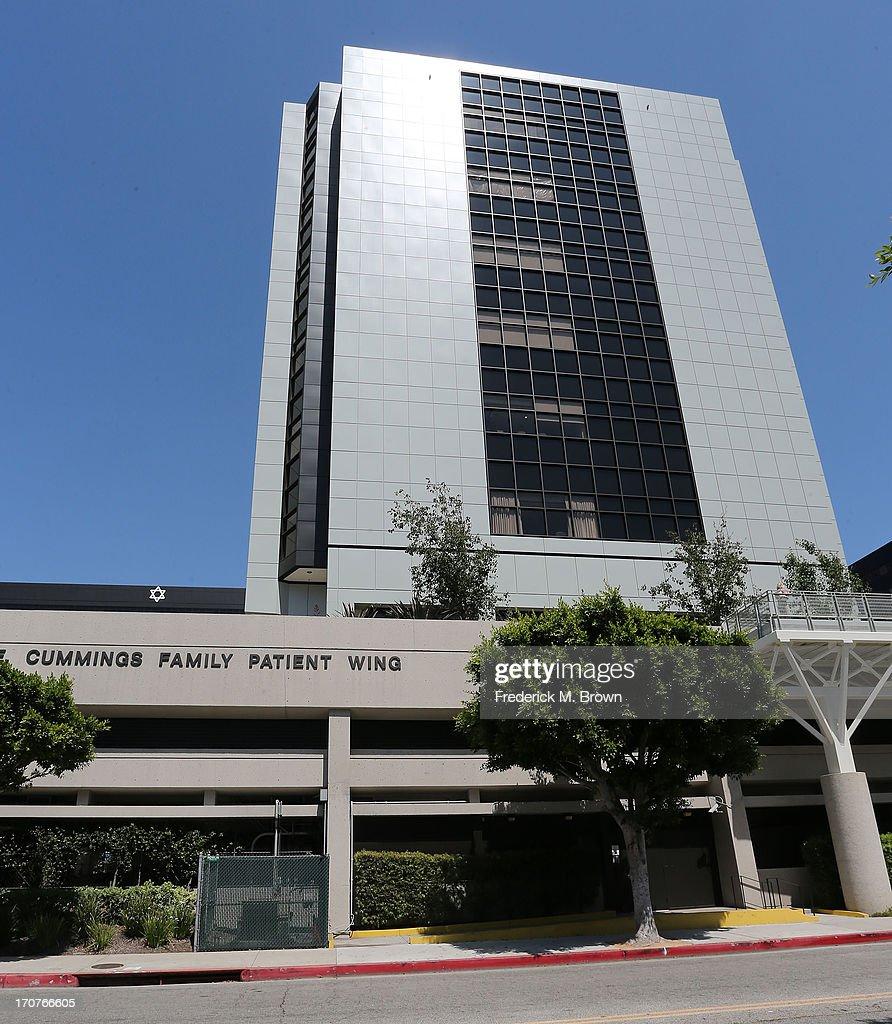 General View of Cedars-Sinai Hospital on June 17, 2013 in Los Angeles, California. Kim Kardashian gave birth to a baby girl at Cedars-Sinai Hospital June 15.