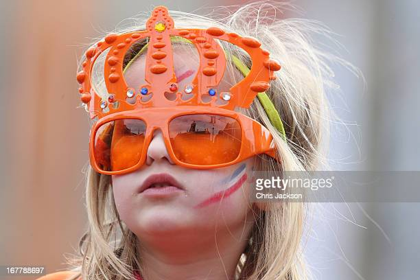General view of celebrations for the inauguration of King Willem Alexander of the Netherlands as Queen Beatrix of the Netherlands abdicates on April...