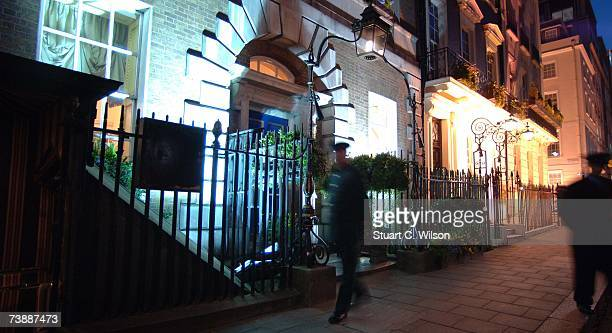 A general view of Celebrity Haunt Annabel's on April 14 2007 in London England