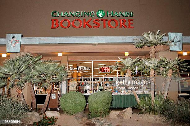 A general view of Changing Hands Bookstore during a book signing session for Valerie Bertinelli's new book 'One Dish at a Time Delicious Recipes and...