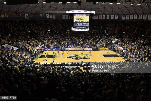 A general view of Charles Koch Arena during a game between the Wichita State Shockers and South Dakota State Jackrabbits on December 05 2017 at in...
