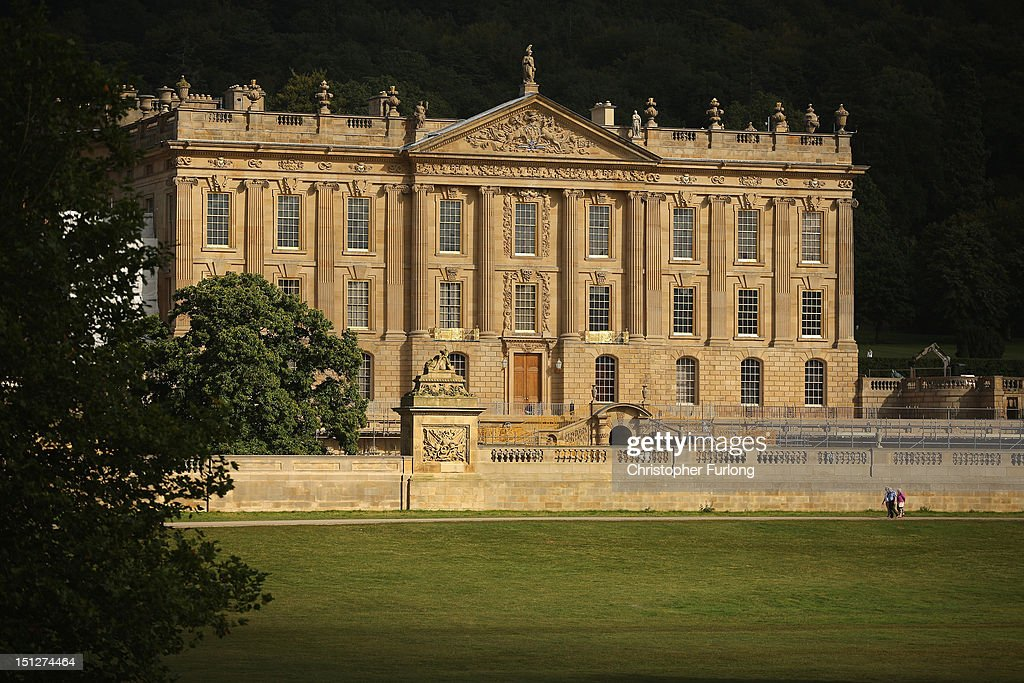 Chatsworth House General Views : Nieuwsfoto's