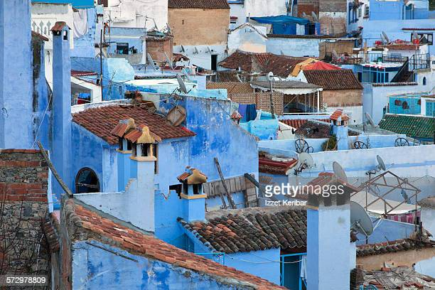 General view of Chefchaouen, Morocco