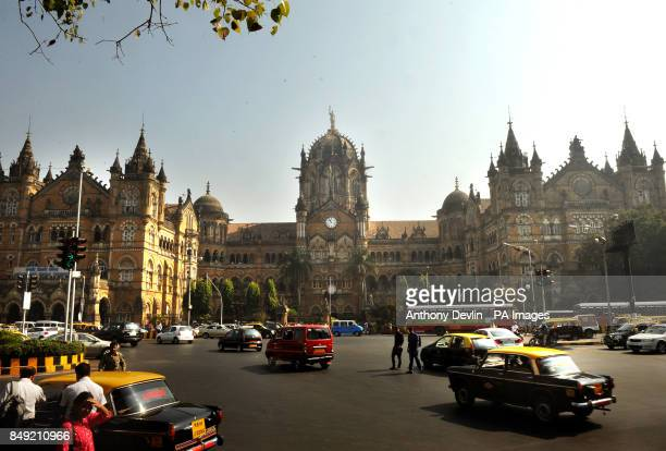 General view of Chhatrapati Shivaji Terminus formerly Victoria Terminus in Mumbai India PRESS ASSOCIATION Photo Picture date Tuesday November 27 2012...
