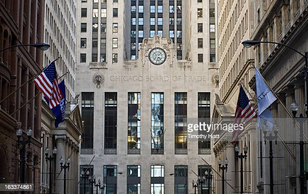 A general view of Chicago Board Of Trade on March 3 2013 in Chicago