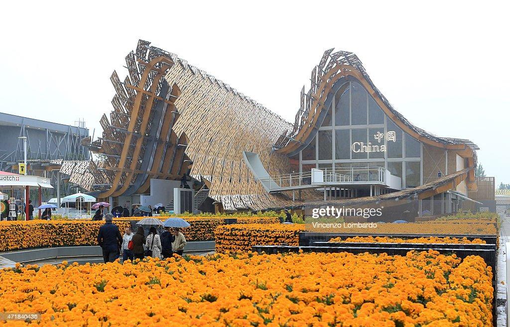 Pavillions - Expo 2015 : News Photo