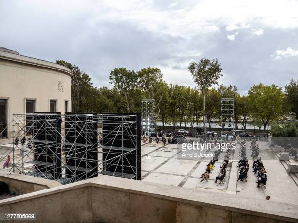 General view of Chloe Womenswear Spring/Summer 2021 show as part of Paris Fashion Week on October 01, 2020 in Paris, France.