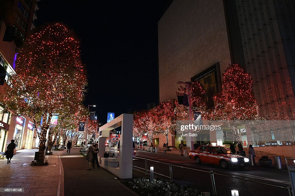 Tokyo Enjoys Christmas Illumination : News Photo