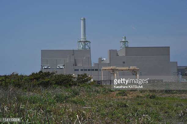 General view of Chubu Electric Power Co.'s Hamaoka nuclear plant on May 8, 2011 in Omaezaki city, Shizuoka prefercture, 200 kilometers west of Tokyo....
