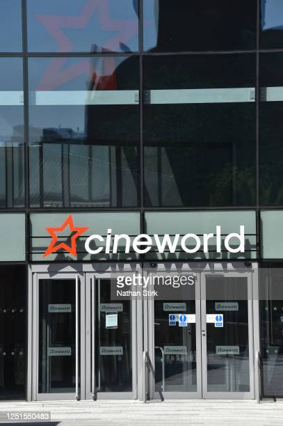 A general view of Cineworld in Hanley on June 23 2020 in StokeonTrent