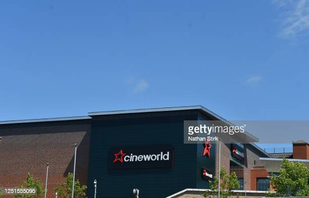 A general view of Cineworld in Hanley on June 23 2020 in StokeonTrent England
