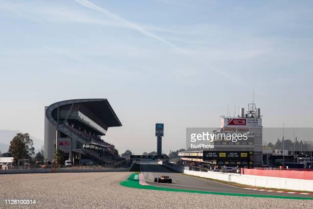 General view of Circuit de Barcelona Catalunya grandstand during the Formula 1 2019 PreSeason Tests at Circuit de Barcelona Catalunya in Montmelo...