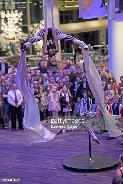 A general view of CirqueLouis Kaleidoscope at the Kentucky Center For The Performing Arts Bomhard Theater on November 3 2017 in Louisville Kentucky