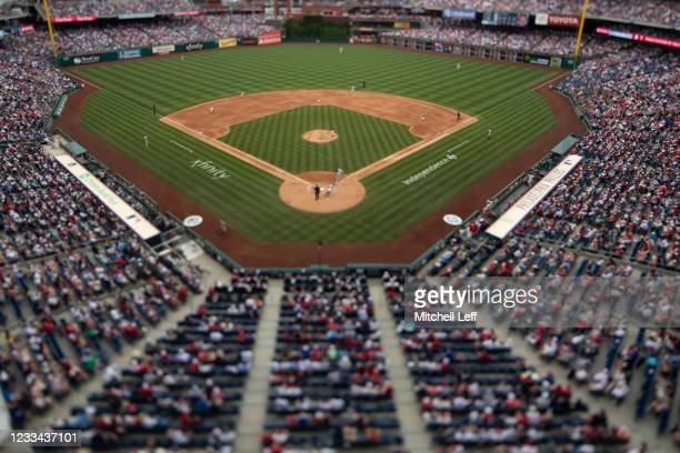 General view of Citizens Bank Park during the game between the New York Yankees and Philadelphia Phillies on June 13, 2021 in Philadelphia,...