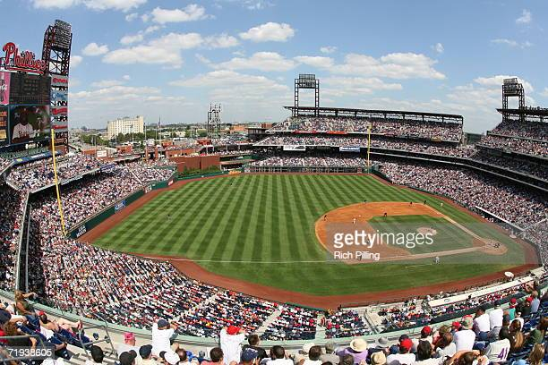 A general view of Citizens Bank Park in Philadelphia Pennsylvania on August 17 2006 The Mets defeated the Phillies 72
