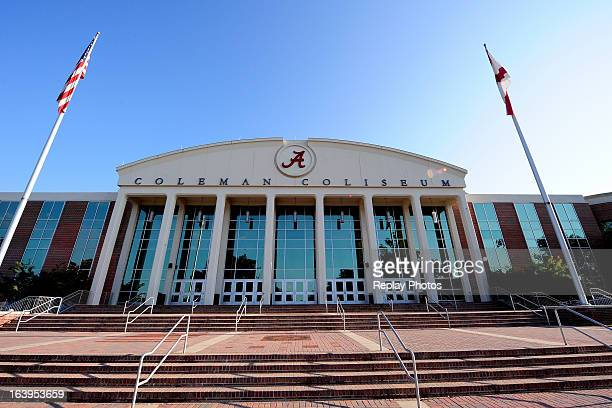 General view of Coleman Coliseum on campus of the University of Alabama on September 7, 2012 in Tuscaloosa, Alabama.