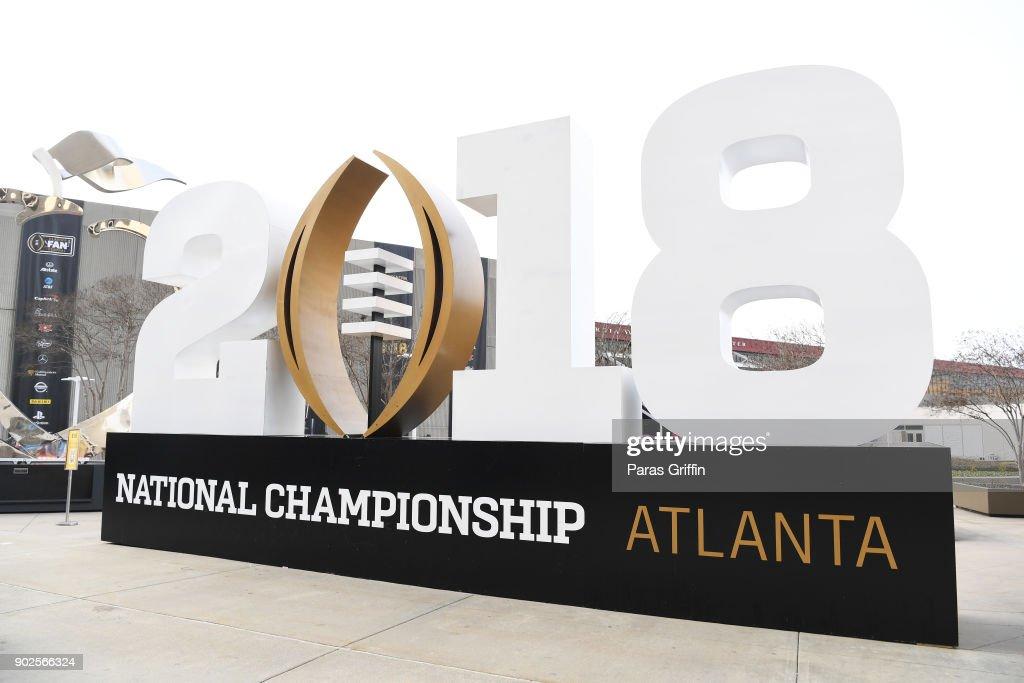 National Championship Atlanta 2018 - AT&T Playoff Playlist Live! : News Photo