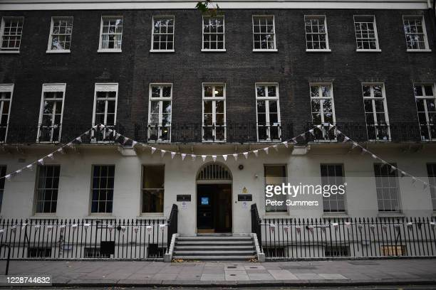 General view of Connaught Hall student accommodation on September 27, 2020 in London, England. In a TV interview today, Culture Secretary Oliver...