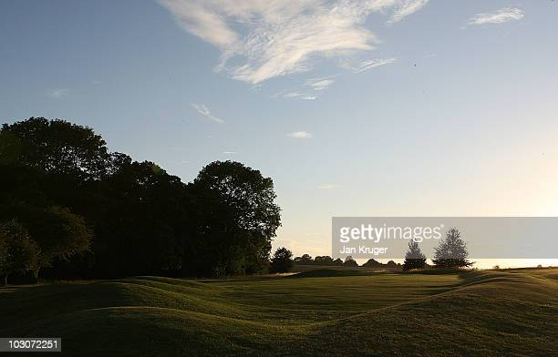 General view of course during the Business Fort English PGA Championship 2010 Grand Final at Goodwood Golf Club Downs Course on July 24 2010 in...