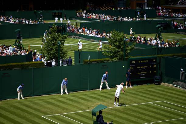 GBR: Day Three: The Championships - Wimbledon 2019