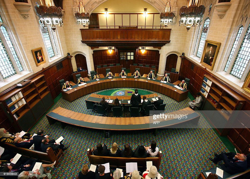 A general view of Court one during the o : News Photo