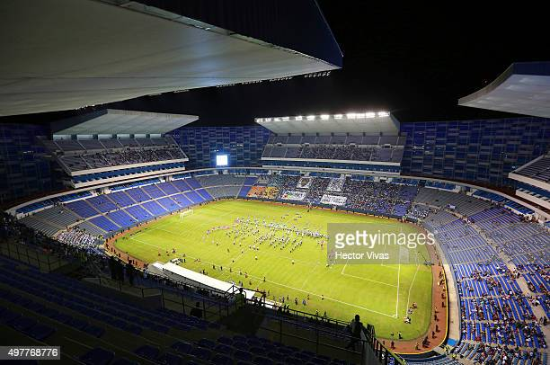 General view of Cuauhtemoc Stadium prior the friendly match between Puebla and Boca Juniors at Cuauhtemoc Stadium on November 18 2015 in Puebla Mexico