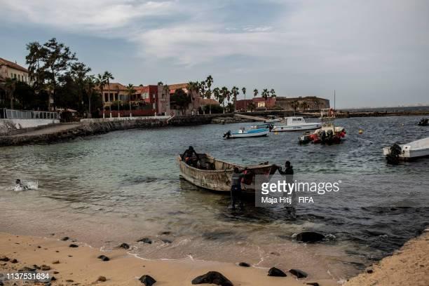 General view of Dakar on January 17 2019 in Dakar Senegal