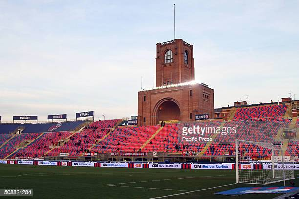 A general view of Dall'Ara Stadium during the Italian Serie A football match between Bologna FC v ACF Fiorentina
