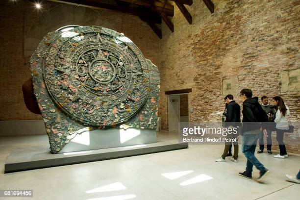 General view of Damien Hirst's exibition at Punta Della Dogana during the 57th Venice Biennale on May 10 2017 in Venice Italy