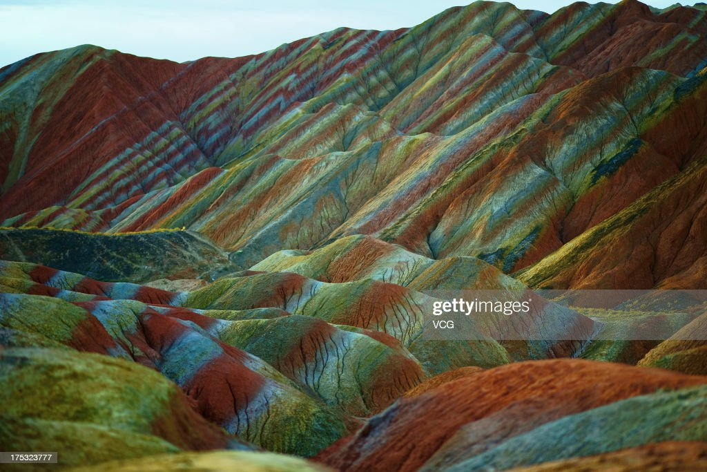 Danxia Landform Recognized As World Natural Heritage : Photo d'actualité