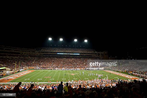 General view of Darrell K Royal - Texas Memorial Stadium as the Texas Longhorns take on the TCU Horned Frogs on November 22, 2012 in Austin, Texas.