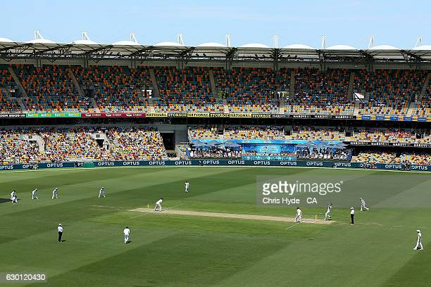 General view of day three of the First Test match between Australia and Pakistan at The Gabba on December 17 2016 in Brisbane Australia