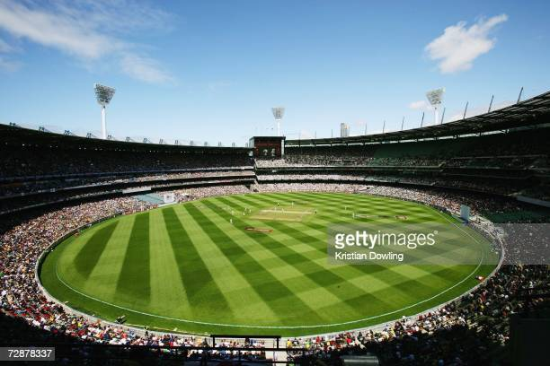 General view of day two of the fourth Ashes Test Match between Australia and England at the Melbourne Cricket Ground on December 27, 2006 in...