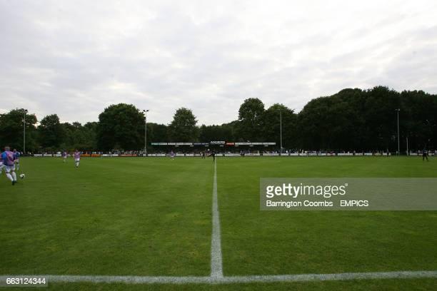 General view of De Wijchert Sports Park in Wijchert Holland