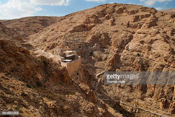 General view of Deir Mar Musa monastery
