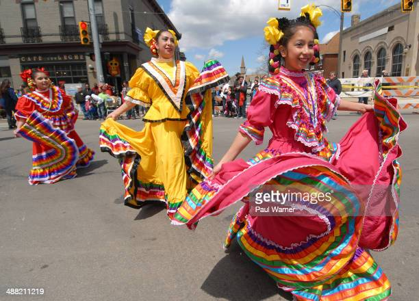 General view of Detroit's Cinco de Mayo parade on May 4 2014 in Detroit Michigan