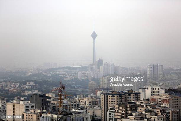 General view of developing area with a few constructions in the capital city Tehran as Iranian government plans to solve the economic crisis by...